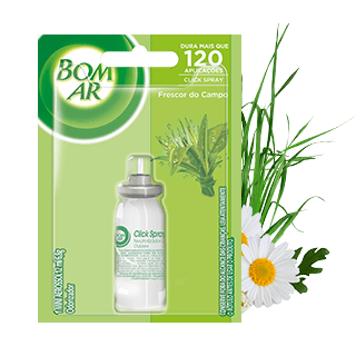 Bom Ar® Click Spray Frescor do Campo