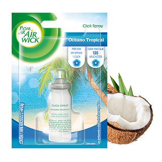 Bom Ar® Click Spray Oceano Tropical