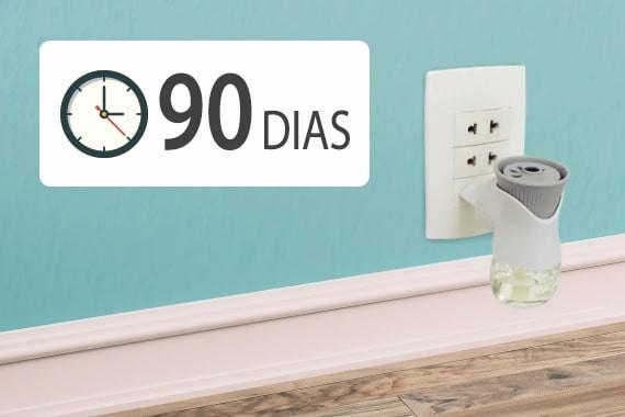 Bom Ar® Difusor Elétrico dura até 90 dias