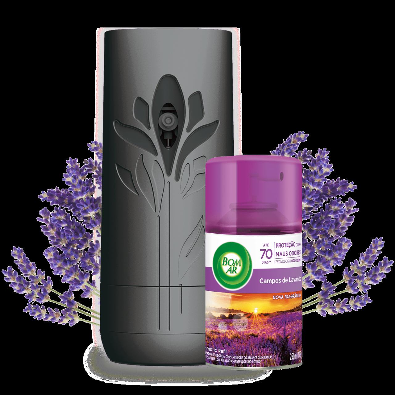 Bom Ar® Freshmatic Spray Automático Campos de Lavanda
